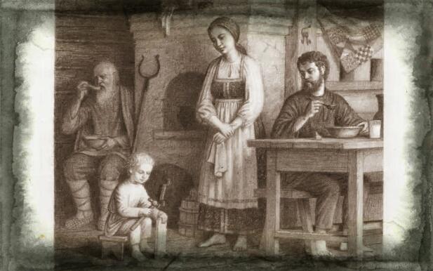 басня дед и внучек