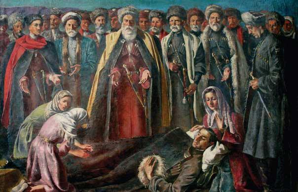 Халилбек Мусаясул - Мученик