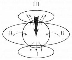 Рис. 5. Схема соотношений сознания и неосознаваемых процессов различных классов
